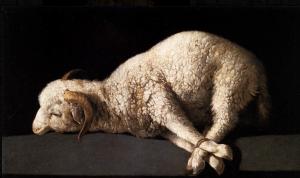 Agnus Dei (Lamb of God) , Francisco de Zurbaran, c. 1636-1640