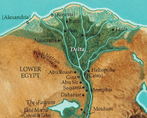 May Imperfect Pastor - Map of egypt goshen