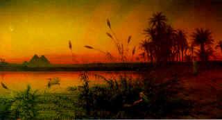 Exodus Nile River Reeds