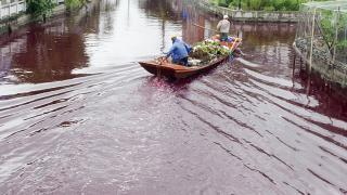 Exodus River Turns to Blood in China