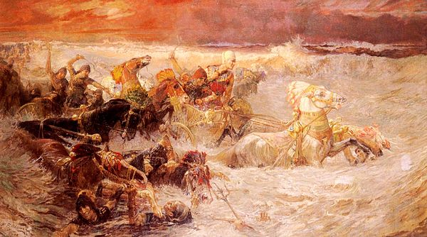 600px-Bridgman_Pharaoh's_Army_Engulfed_by_the_Red_Sea