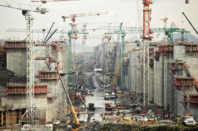 New Panama Canal Construction