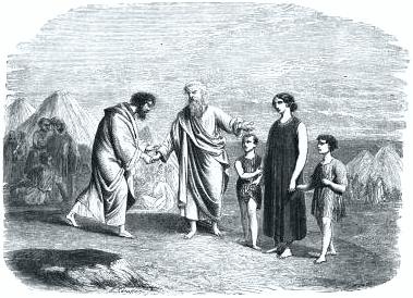 Moses reunit wife