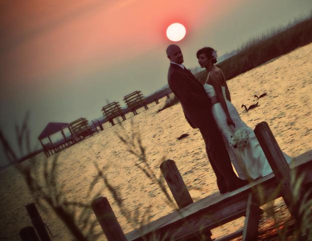 Jord-April wedding dock
