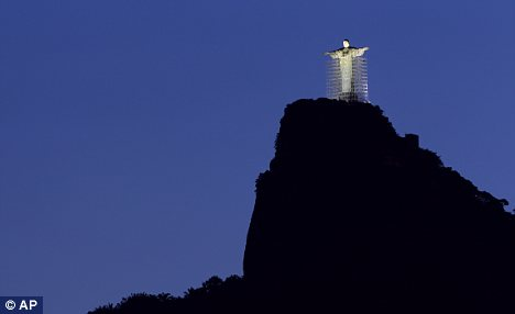 Rio Jesus on the mountain